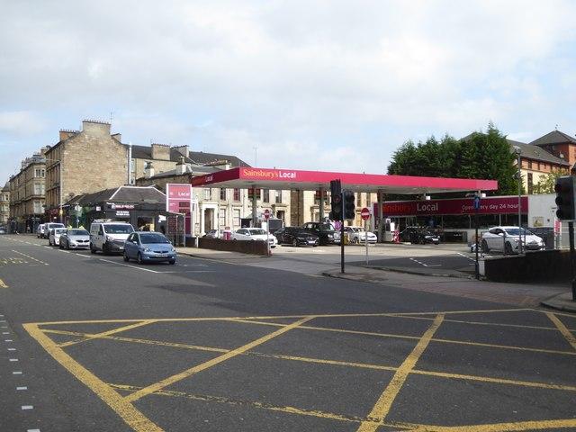 Sainsbury's filling station, Woodlands Road