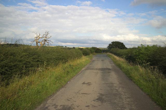 Eccup Moor Road by Owlet Hall