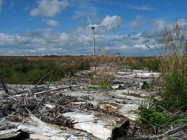 Temporary bridge, Stroupster Wind Farm, Caithness