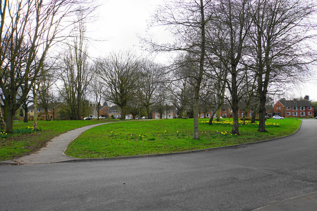 Green space on St John's Close