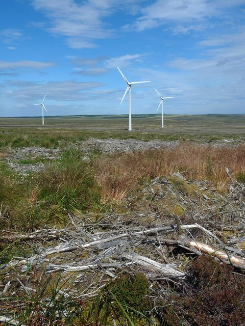 Clearfell, Stroupster Wind Farm, Caithness