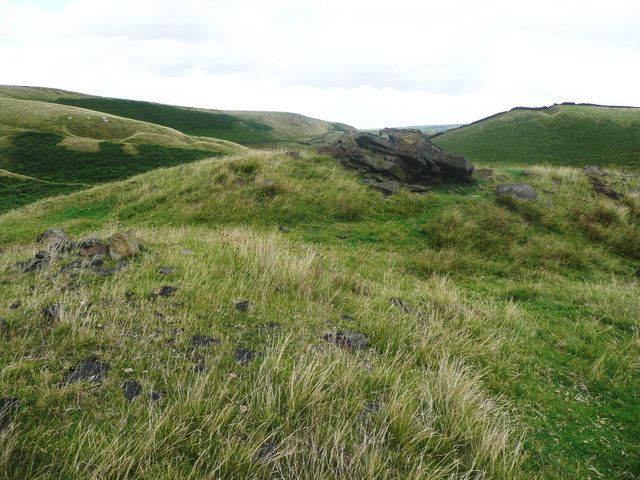 The summit of Cuckoo Hill, Littleborough
