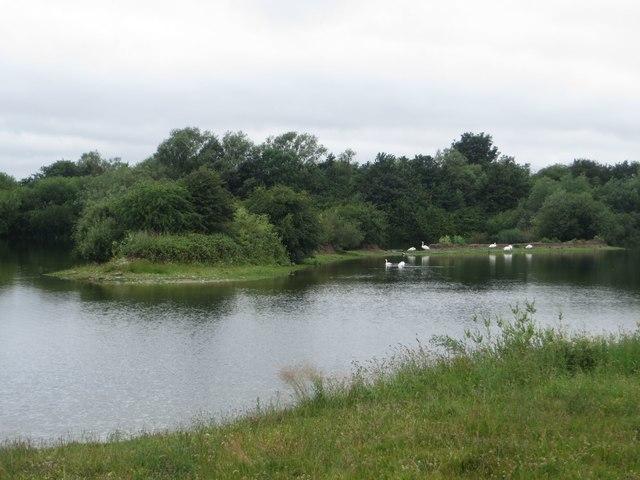 Lake next to Pulfin Bog Nature Reserve