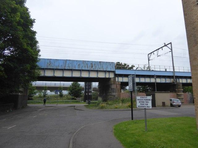 Railway bridge over Ferry Road