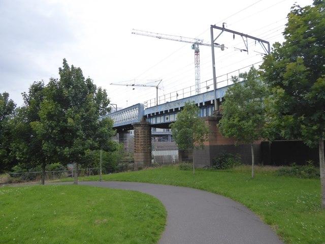 Railway bridge over River Kelvin