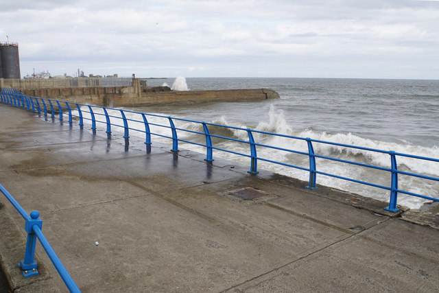 The seafront at Hendon