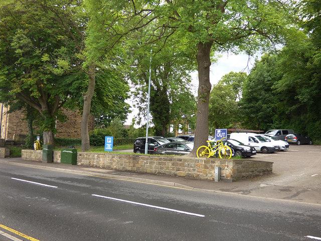 Low Lane car park, Birstall