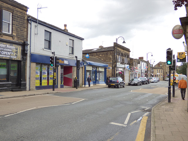 Pelican crossing, Low Lane, Birstall