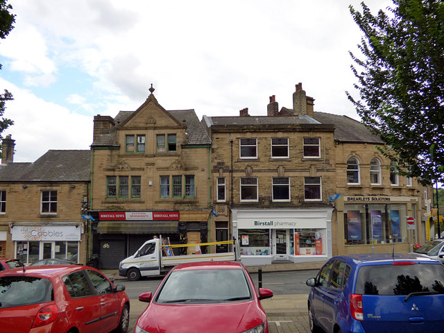 South side of Birstall market place