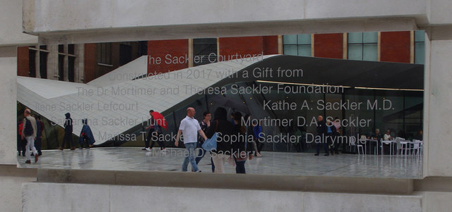 Victoria & Albert Museum - The Sackler Courtyard