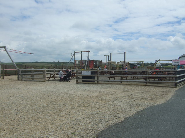 Playground and picnic area, Land's End