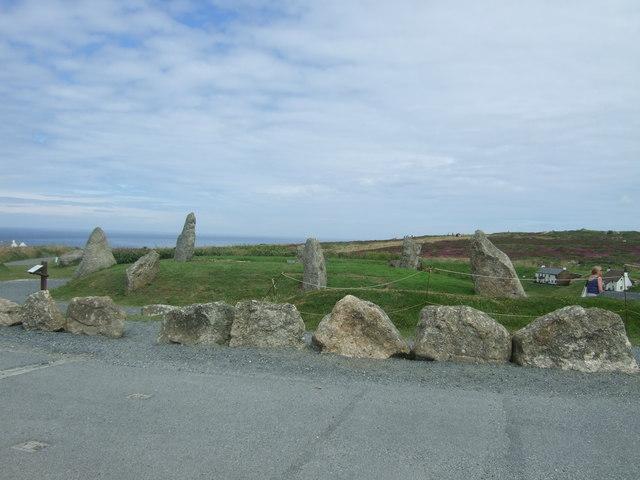 Stone circle, Land's End