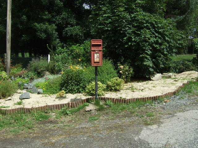 Elizabeth II postbox, Pine Trees Camp Site