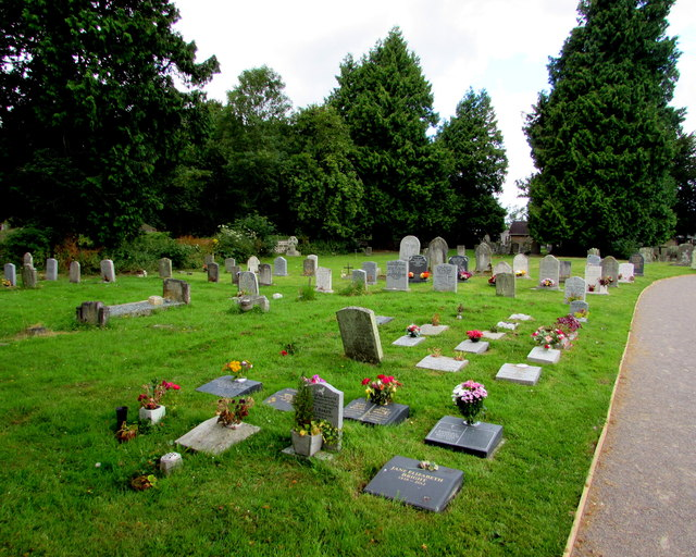English Bicknor churchyard
