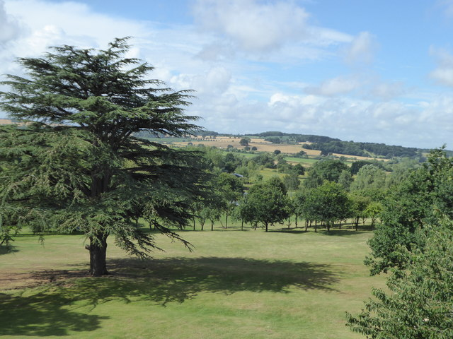 The golf course at Puckrup Hall Hotel
