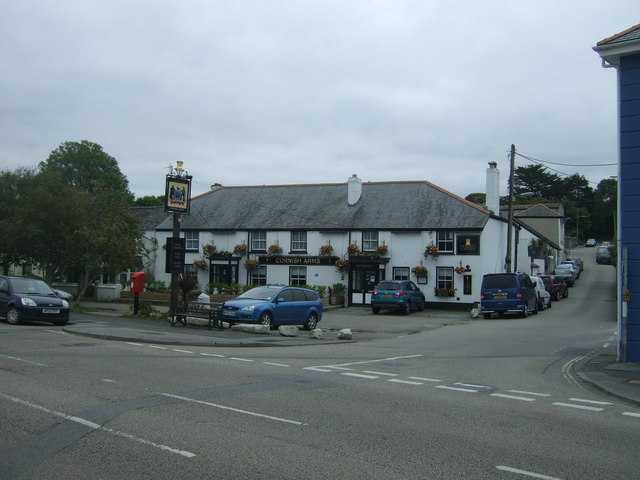 Cornish Arms public house, Hayle
