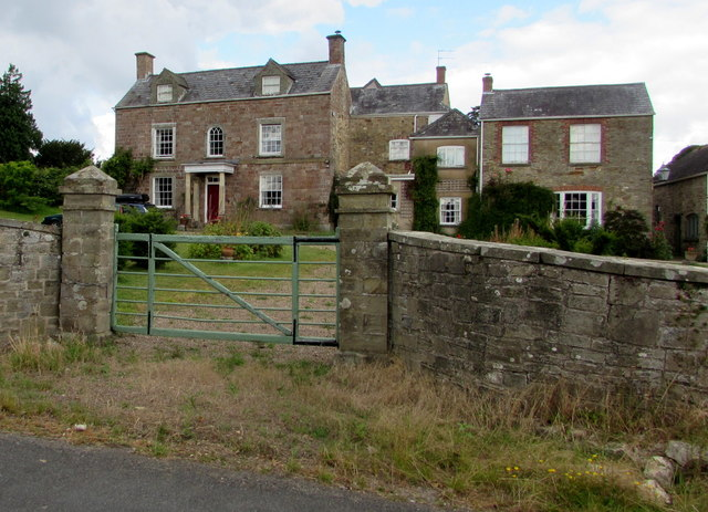 English Bicknor houses, Gloucestershire