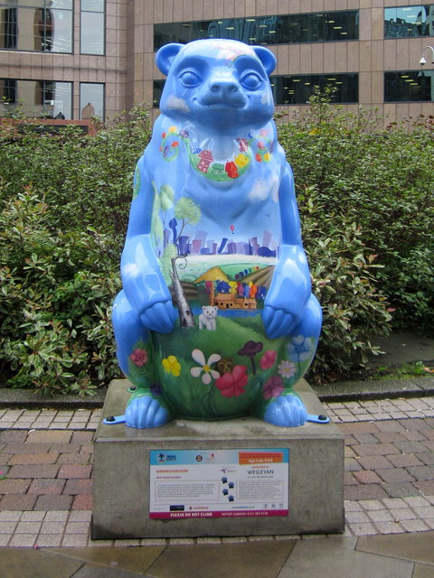 Birmingham Big Sleuth Captain Blue  Bear