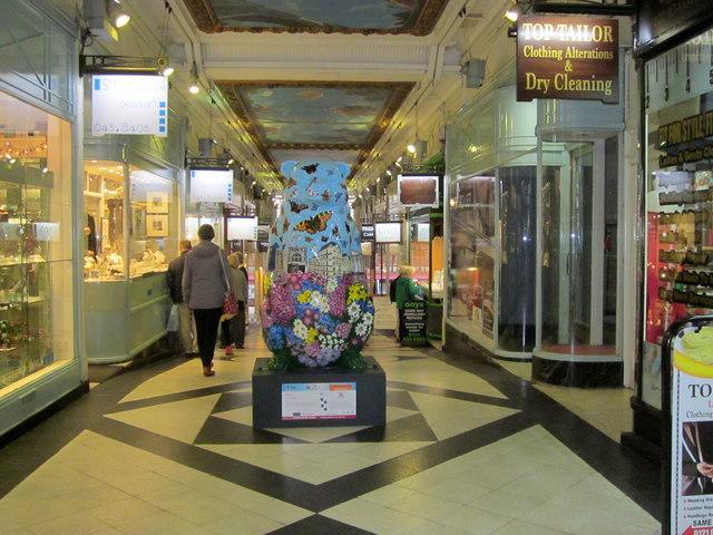 Birmingham Big Sleuth Wild City Bear Piccadilly Arcade