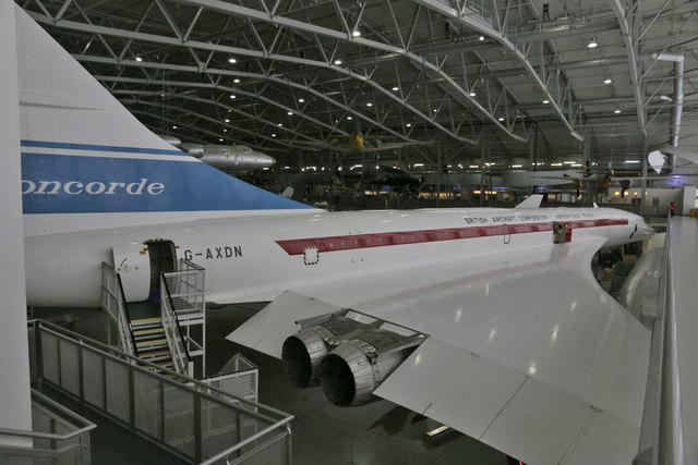 Along the Concorde