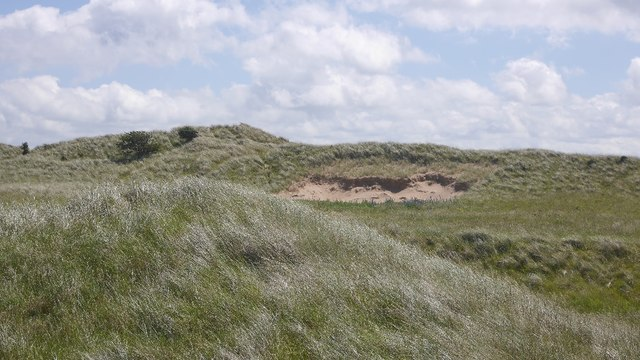Exposed sand, Jamie's Neuk