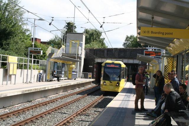Chorlton: Metrolink station