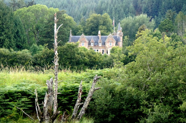 Aigas House from the River Beauly