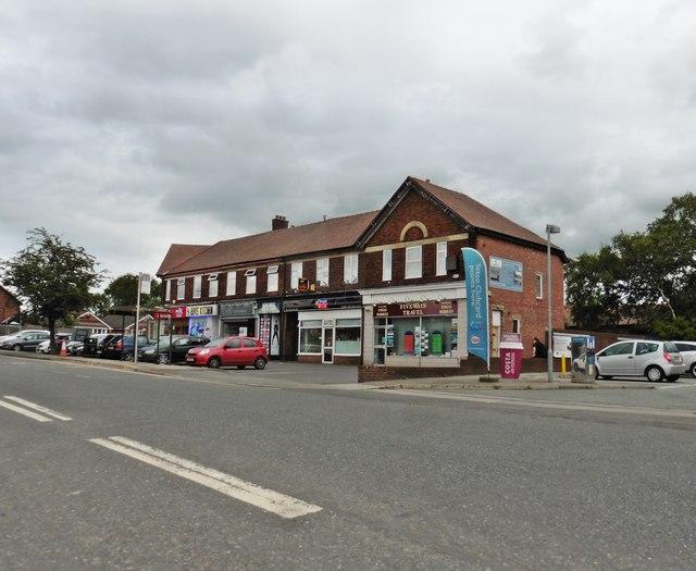 Parade of shops, Hazel Grove