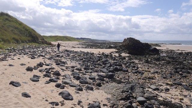 Beach north of Gullane