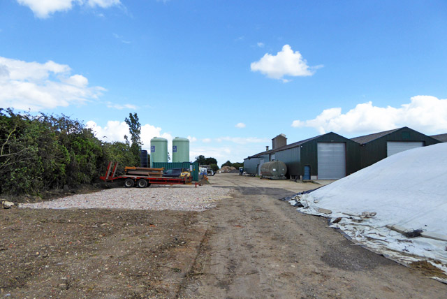Farmyard, Apton Hall Farm