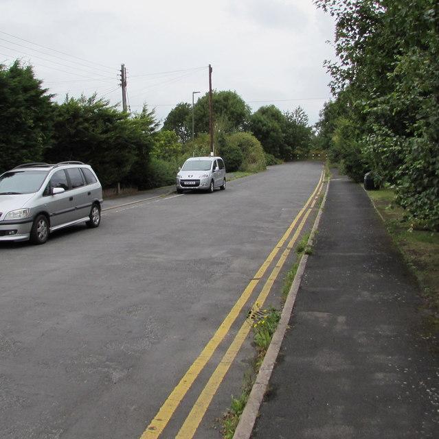Western end of a side road, Ashchurch