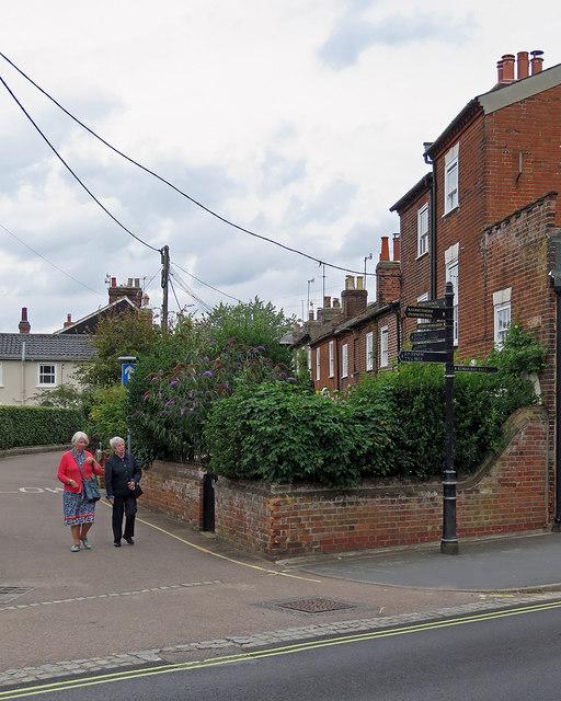 Woodbridge: Brook Street