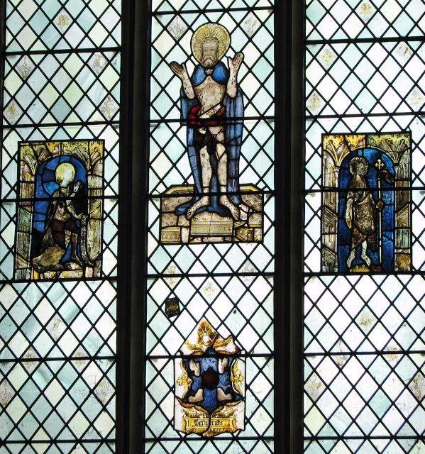All Saints church, Poringland - east window