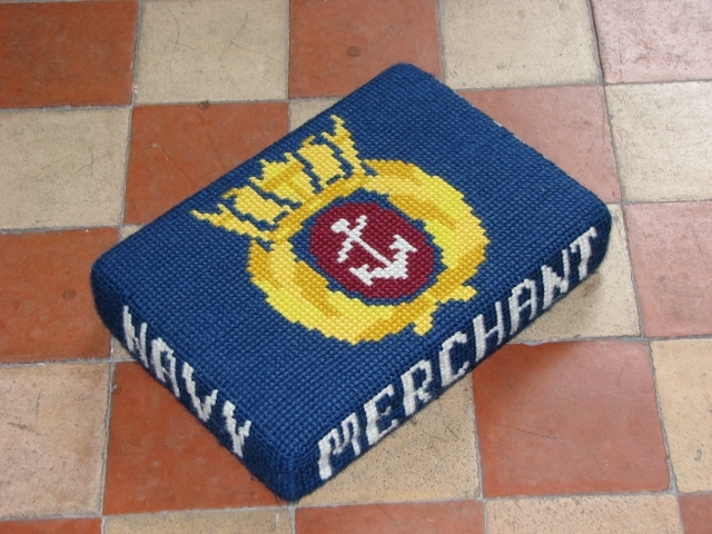 All Saints church, Poringland - kneeler
