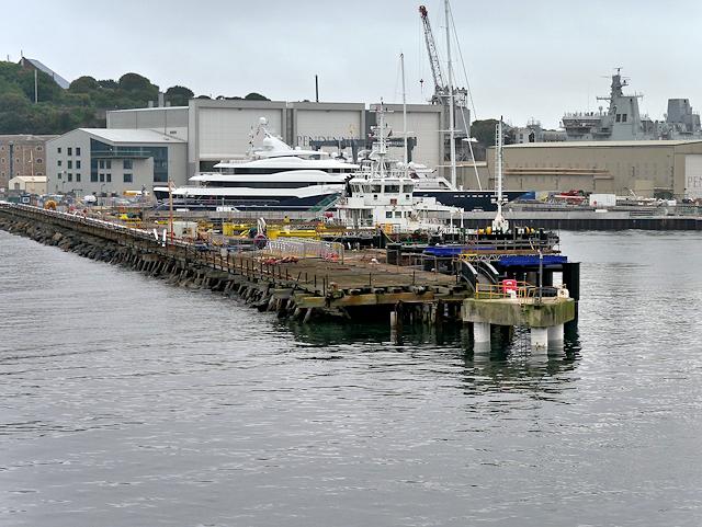 Falmouth Docks, The Eastern Breakwater