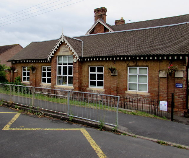 Oldest part of Ashchurch Primary School, Ashchurch