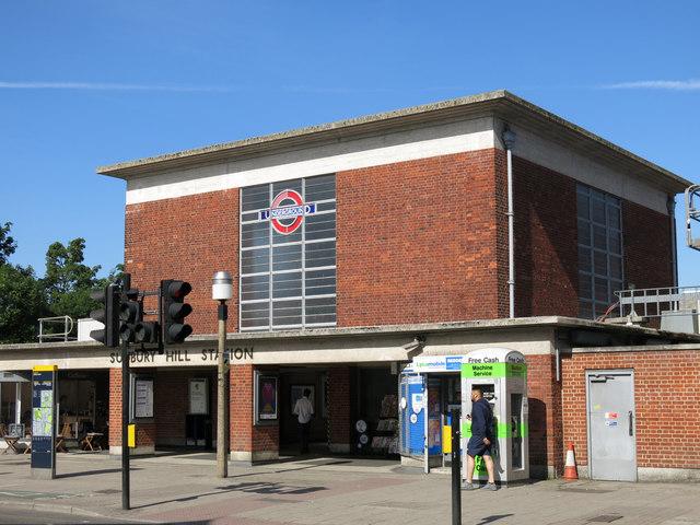 Sudbury Hill tube station - entrance building (2)