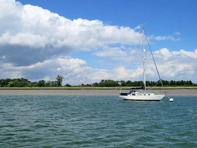 Moored on the Deben