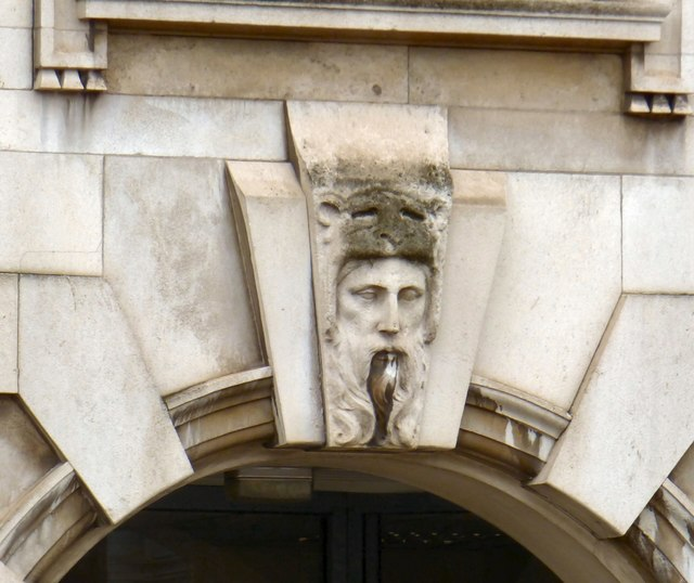 Manchester Royal Infirmary: Architecture detail (1)
