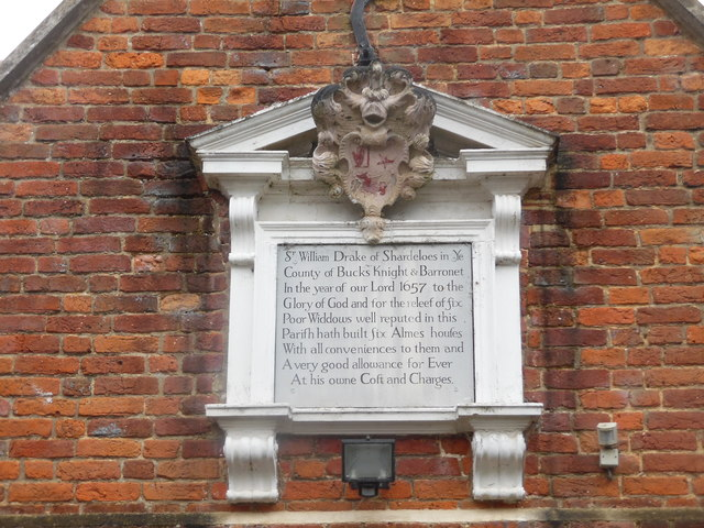 Inscription on the Almhouses in Old Amersham