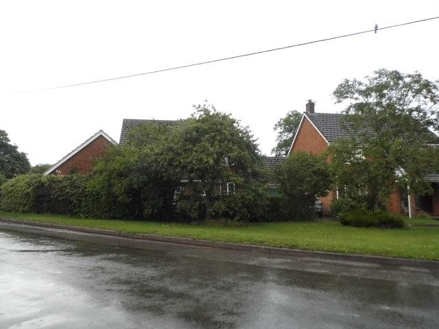 Houses on Parsonage Lane, Lambourn