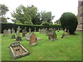 SP6436 : The south west part of the churchyard, Shalstone by Jonathan Thacker