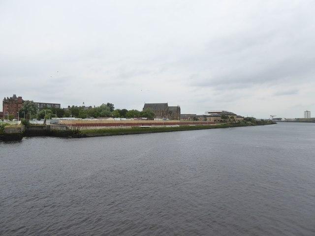 River Clyde at Govan