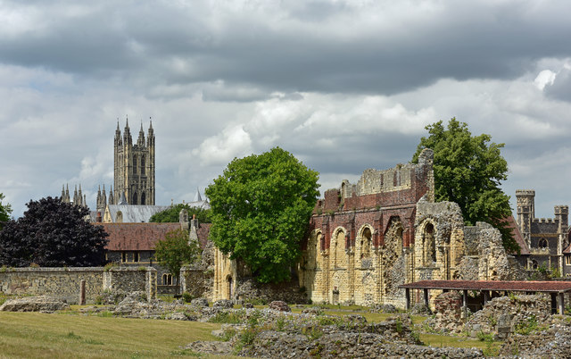 Canterbury Cathedral and St Augustine's Abbey - July 2017