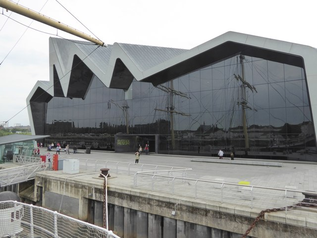 Riverside Museum from the Tall Ship