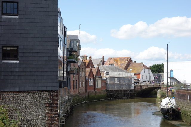 The River Ouse At Lewes