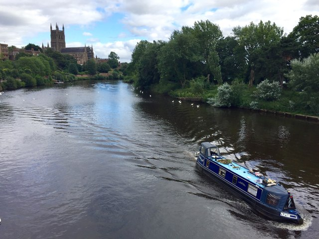 River Barge on the Severn