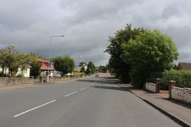 The A70 in Coylton