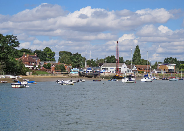 Waldringfield from the water