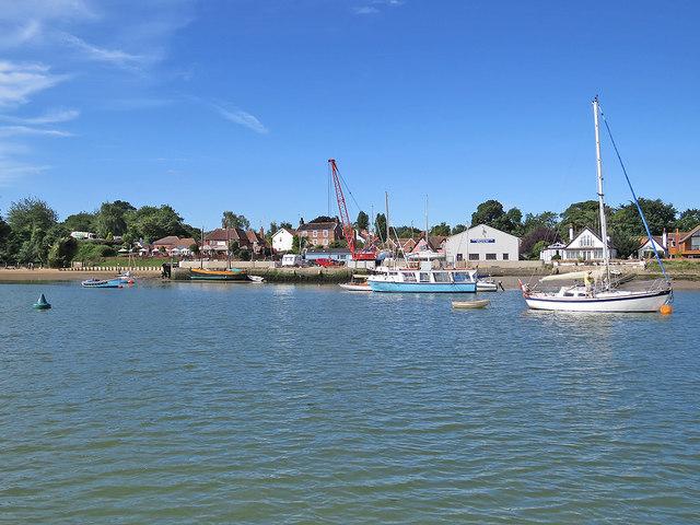 Waldringfield boatyard